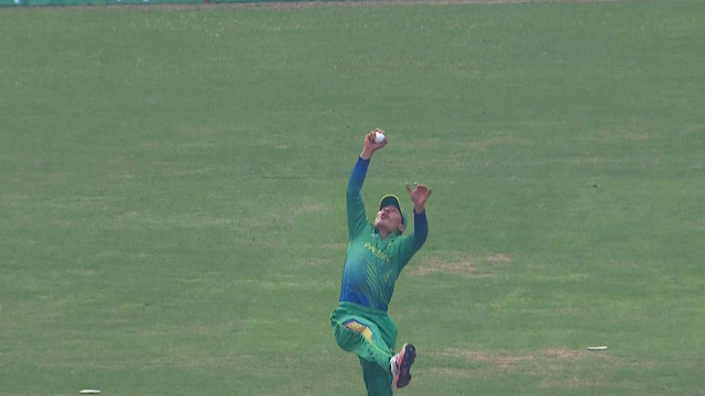 Stunning catch by umar