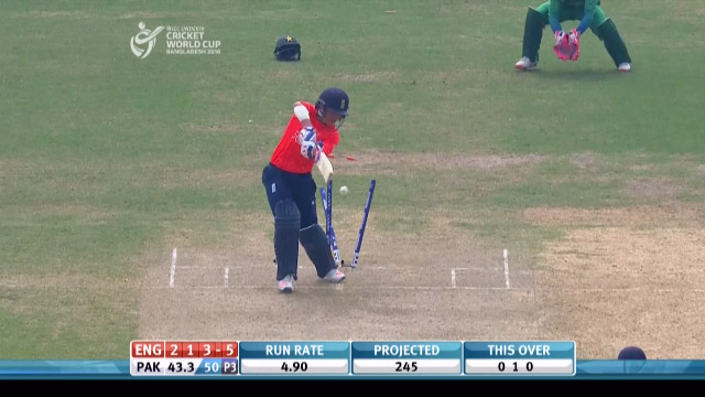 England Innings Wickets – PAK v ENG