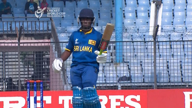 Sri Lanka innings Highlights – BAN v SL
