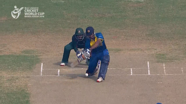 Sri Lanka Innings Super Shots – BAN v SL