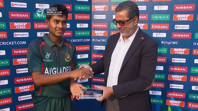 Man of the Match – Mehedi Hasan – BAN v SL