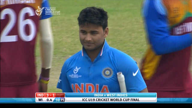 Pant Wicket – IND v WI