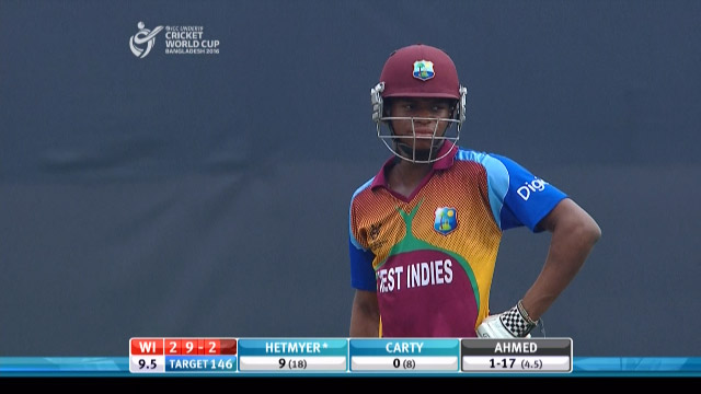 Carty Innings – IND v WI
