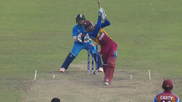 West Indies Innings Super Shots – IND v WI