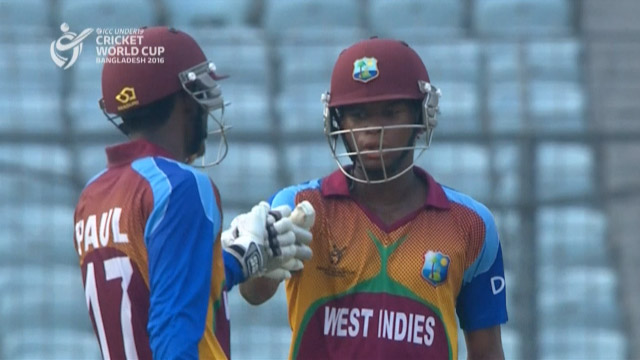 West Indies Innings Highlights v India
