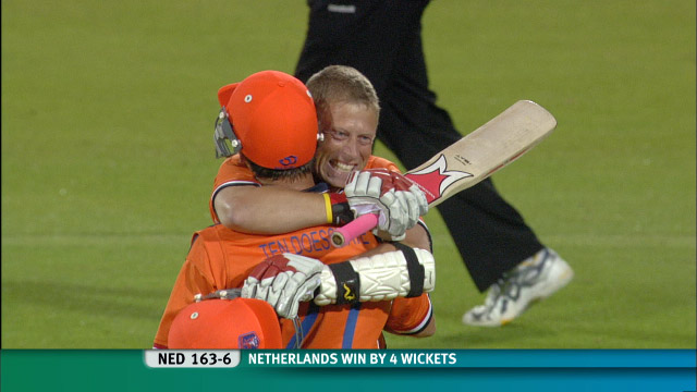 Netherlands beating England at Lord's