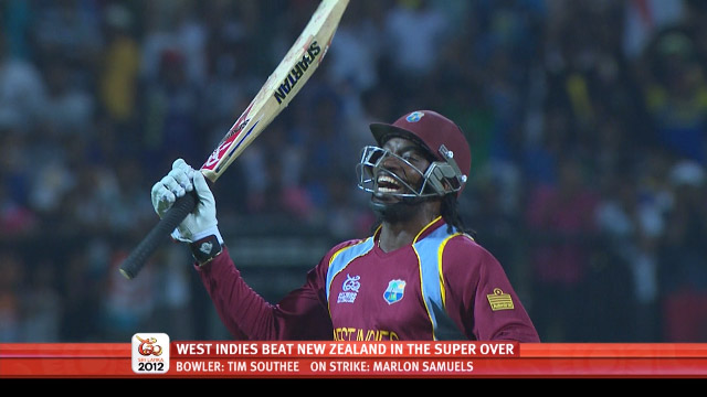 West Indies compound New Zealand Super Over blues chasing 17 to go through to semis