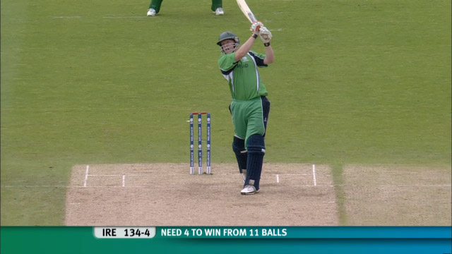 Ireland beat Bangladesh to get to Super 8s