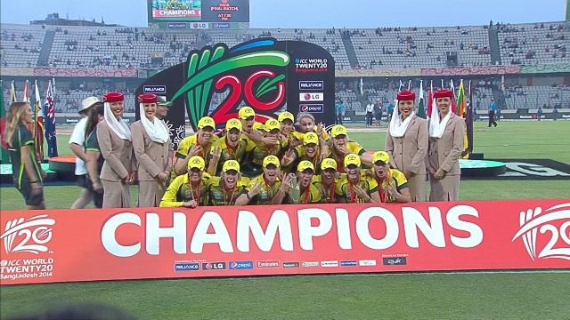 Australia Women seal a hat-trick of titles