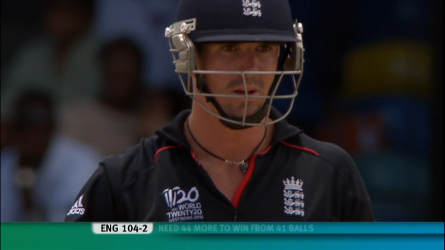 Pietersen smashes 73- en route to player of the tournament v Pakistan