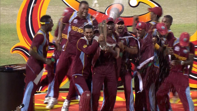 Rewind: West Indies win 2012 WT20...and dance!