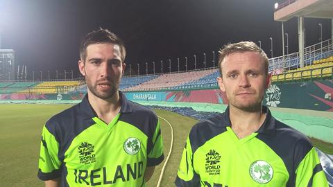 Porterfield seals ten-wicket win for Ireland in ICC World T20 2016 warm-up