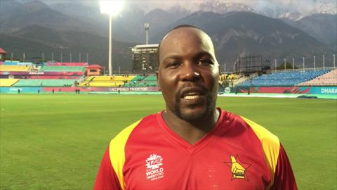 Hamilton Masakadza speaks after Ireland win