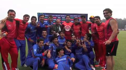 Afghanistan - Plate Championship 2016 winners