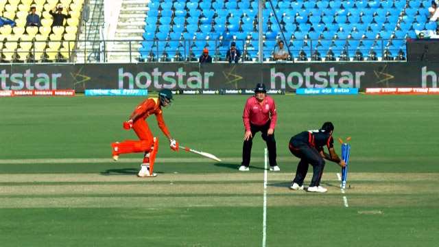 Zimbabwe Innings Wickets – ZIM v HK