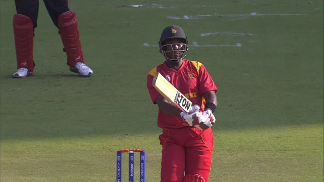 Zimbabwe Innings Highlights – ZIM v HK