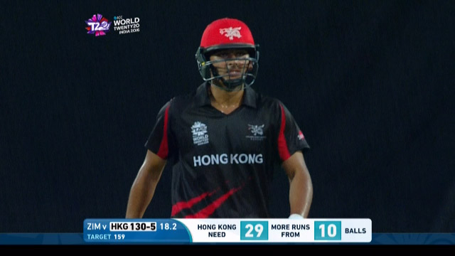 A Rath Wicket – ZIM v HK