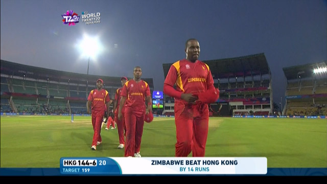 Zimbabwe ease past Hong Kong