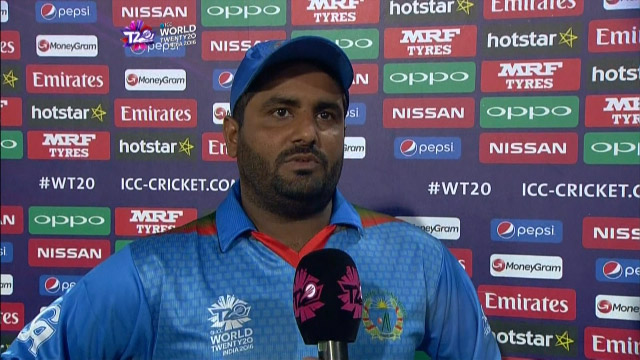 Shahzad Interview – SCO v AFG
