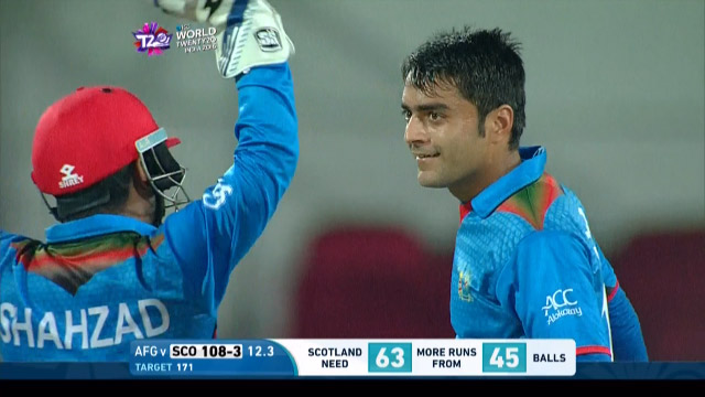 Match highlights – SCO v AFG