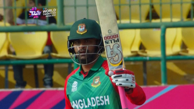 Tamim Iqbal Innings for Bangladesh V Netherlands Video ICC WT20 2016