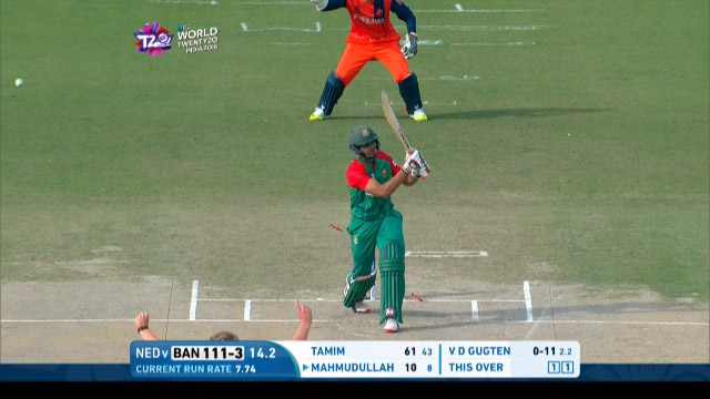 Bangladesh Wicket Losses v Netherlands Video ICC WT20 2016