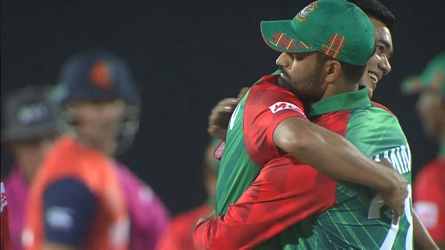 Match highlights - Bangladesh v Netherlands, ICC World T20