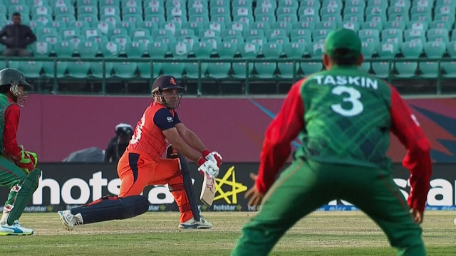 Cricket Highlights from Netherlands Innings v Bangladesh ICC WT20 2016