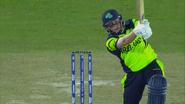 Andrew Poynter hits biggest Six in Dharamsala's opening day