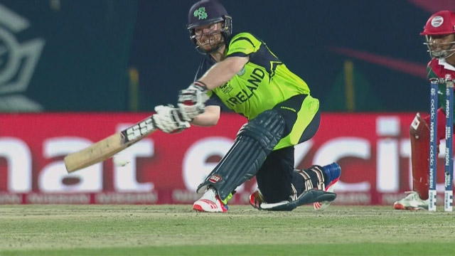 Ireland Innings Super Shots – IRE v OMA