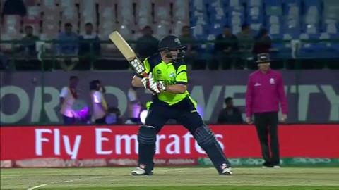 Kevin O'Brien Wicket Fall IRE V OMA Video ICC WT20 2016