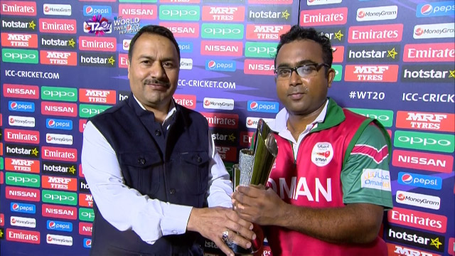 Player of the Match – Amir Ali  – IRE v OMA