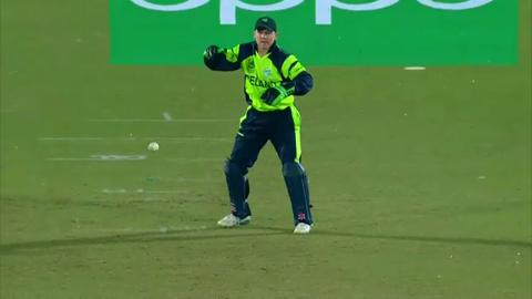 Sultan Ahmed Wicket Fall OMA V IRE Video ICC WT20 2016