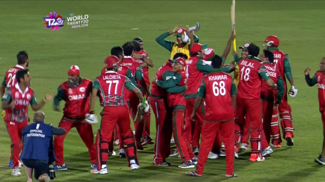 Cricket Highlights from Oman Innings v Ireland ICC WT20 2016