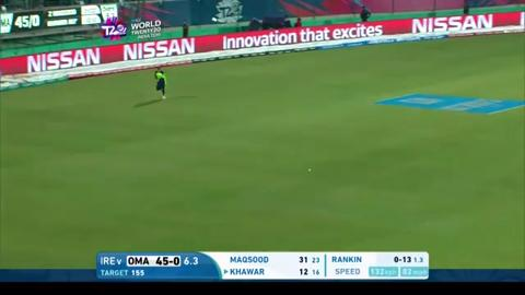 Oman Innings Super Shots – IRE v OMA
