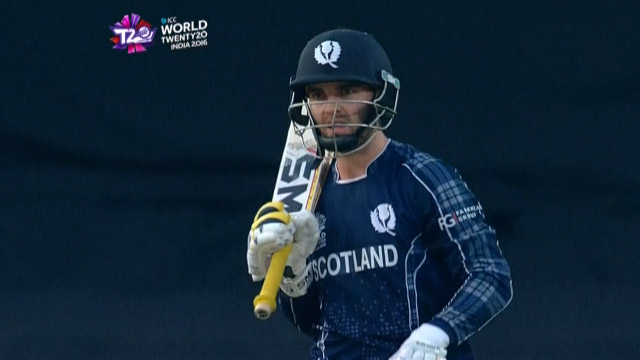 Preston Mommsen Innings for Scotland V Zimbabwe Video ICC WT20 2016