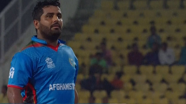 Mohammad Shahzad Innings for Afghanistan V Hong Kong Video ICC WT20 2016