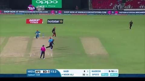 Noor Ali Zadran Innings for Afghanistan V Hong Kong Video ICC WT20 2016