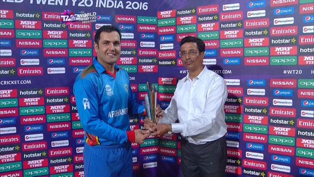 Player of the Match – Mohammad Nabi  – HK v AFG