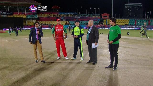 Ireland wins Toss against Bangladesh Match 8 ICC WT20 2016