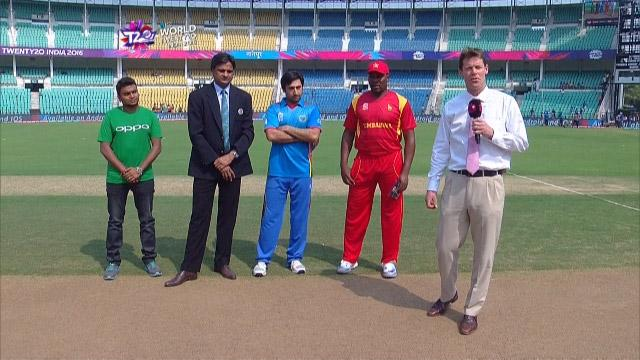 Afganistan wins Toss against Zimbabwe Match 9 ICC WT20 2016