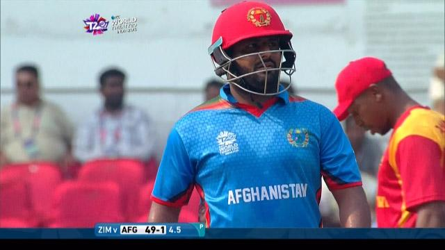 Mohammad Shahzad Wicket Fall AFG V ZIM Video ICC WT20 2016