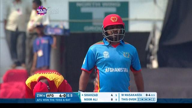 Mohammad Shahzad Innings for Afghanistan V Zimbabwe Video ICC WT20 2016