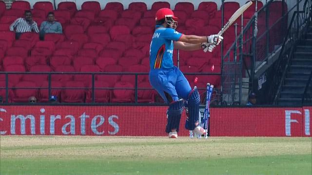 Afghanistan wicket Losses v Zimbabwe Video ICC WT20 2016