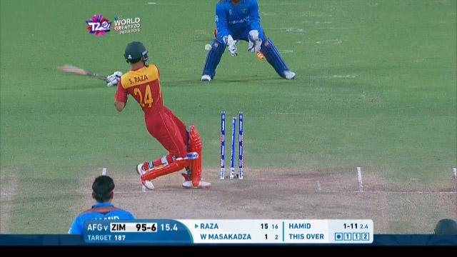 Zimbabwe Innings Wickets – ZIM v AFG