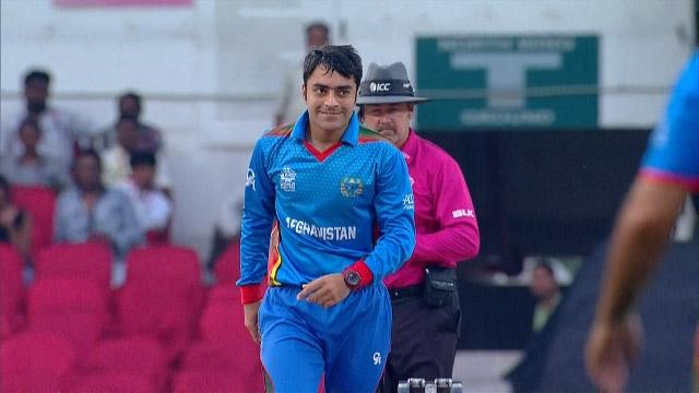 Rashid Khan Match Hero for Afghanistan v ZIM ICC WT20 2016