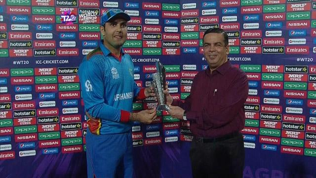 Player of the Match – Mohammad Nabi  – ZIM v AFG