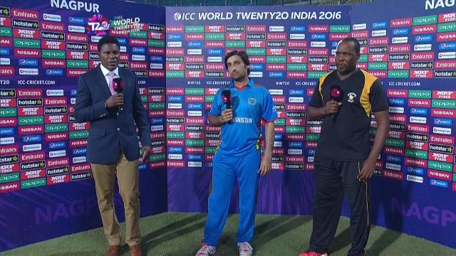 Match Presentation for ZIM V AFG Match 9 ICC WT20 2016