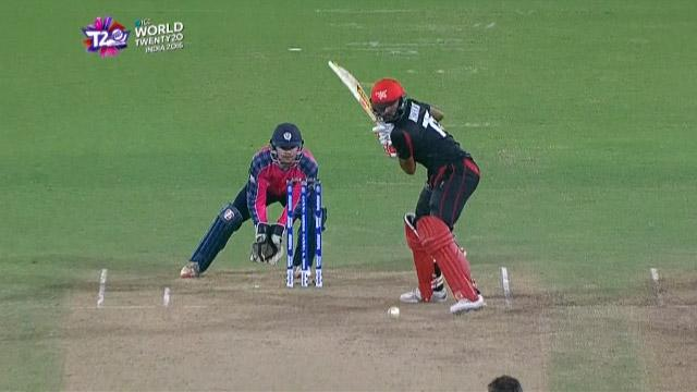 Cricket Highlights from Hong Kong Innings v Scotland ICC WT20 2016