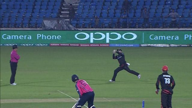 Scotland wicket Losses v Hong Kong Video ICC WT20 2016